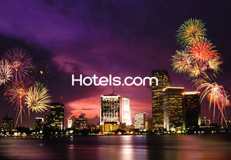 Extra 5% Off Bookings at Hotels.com
