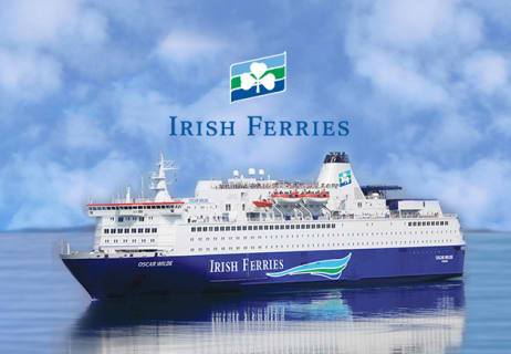 Get Frequent Traveller Discount of 20% at Irish Ferries