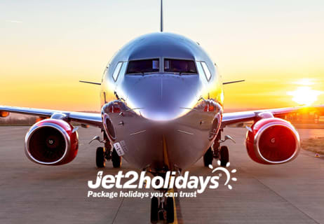 £100 Off Per Person on Summer 2019 & Winter2019/2020 Holidays when Booking at Jet2holidays