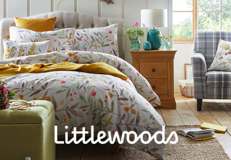 Make a 50% Saving in the Home and Garden Sale at Littlewoods