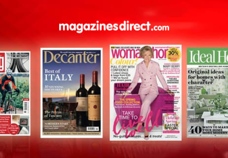 Don't Miss 50% Off Selected Magazine Subscriptions at Magazines Direct