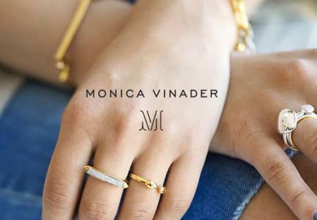 At Monica Vinader Save 40% Off Selected Jewelley in the Sale