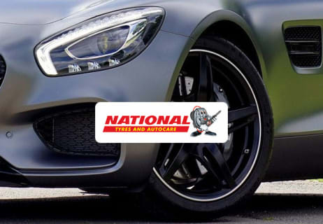 50% Off at National Tyres and Autocare on MOT Test Bookings