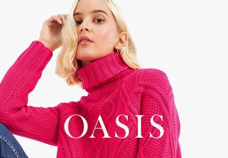 Find 50% Off Selected Styles at Oasis
