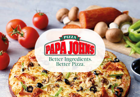 Students Offer from Papa John's Get Any Medium Pizza for £5.99