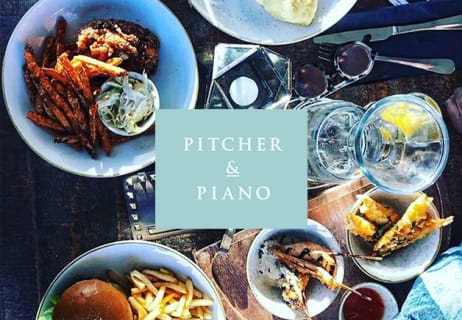 Pitcher and Piano Vouchers & Offers - September - Groupon