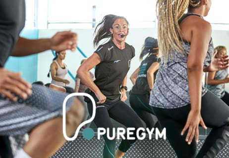 Standard Memberships Available at Pure Gym from £14.99 per Month