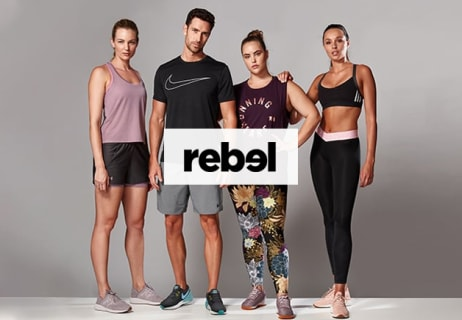 Take Free Delivery on Orders Over $150 at Rebel Sport