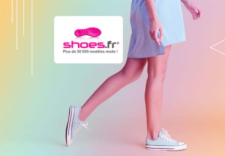 -60% de Remise sur une Sélection de Chaussures chez Shoes.fr