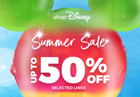Don't Miss The shopDisney Summer Sale with up to 50% Off