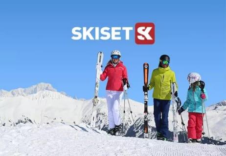 Save up to 50% on Ski Equipment at Skiset