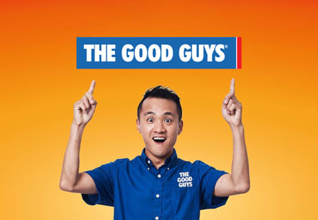 5 Years Interest Free Credit on Orders Over $1000 at The Good Guys