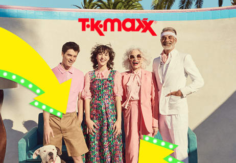 Shop the Clearance for 80% Less at TK Maxx