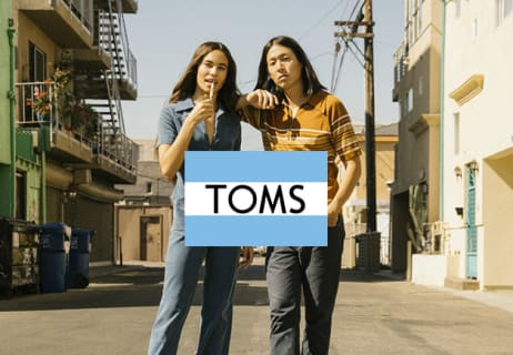 Enjoy 50% Off in the Outlet at TOMS