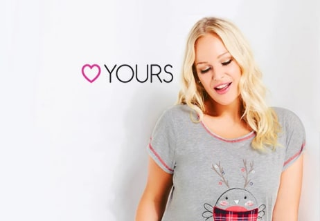 Enjoy 15% Off Orders Over £60 at Yours Clothing