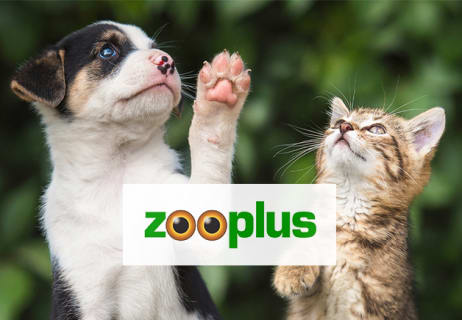 Enjoy Your First Order from zooplus Pet Shop Now with an Extra 5% Off