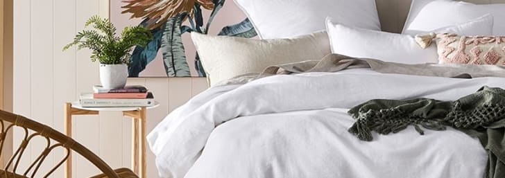 30% Off ❤  Bedroom for Linen Lovers at Adairs