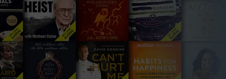 Enjoy a Full 30 Days of Audiobooks for Free at Audible