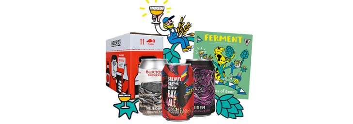 Enjoy a Free First Case with Beer Club Subscriptions at Beer52