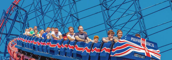Book Tickets from Only £28 at Blackpool Pleasure Beach