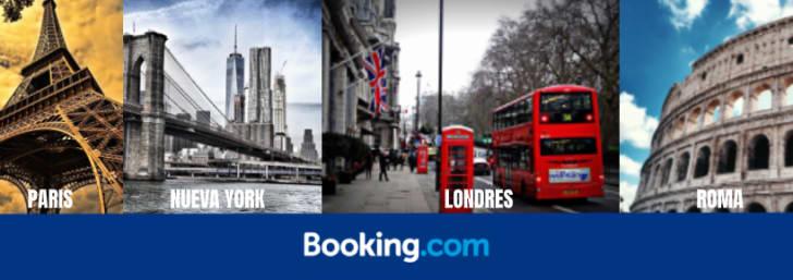 ¡Hasta -50% descuento en tu próximo viaje con Booking!