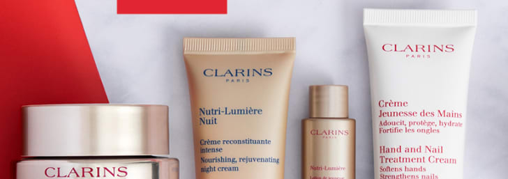 Enjoy up to 20% Off & Free Delivery with Black Friday at Clarins