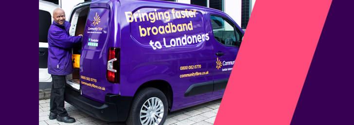 £120 Off Hyperfast Broadband Package Orders at Community Fibre