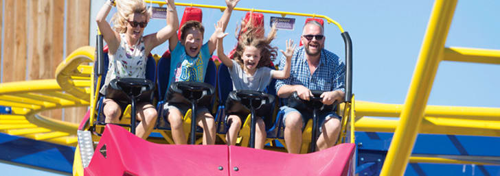 Enjoy 23% Off Tickets with Kids Pass at Crealy Theme Park & Resort