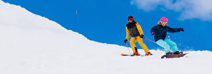 Get 2 for 1 on Lift Passes at Crystal Ski Holidays