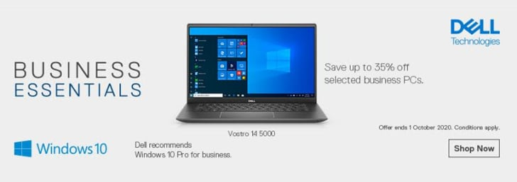 Up to 35% Off Business PCs from Dell