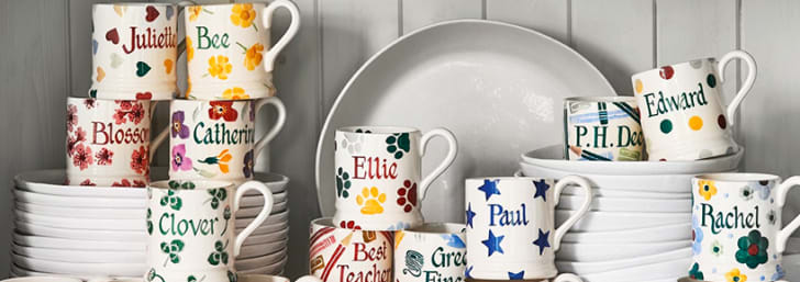 Check Out 15% Off First Orders with Newsletter Sign-ups at Emma Bridgewater