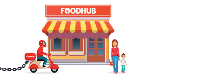 Gain 20% Off First Orders Over £5 at FoodHub