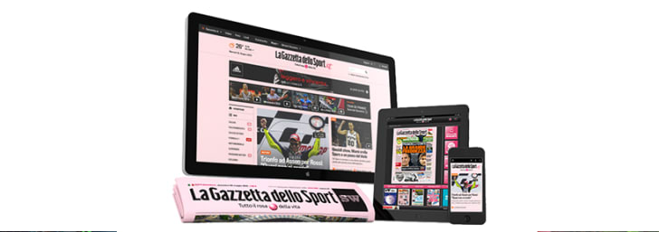 Offerta Gazzetta dello Sport 5 accessi A SOLI 3,99€ al mese!