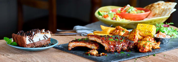 33% Discount on Mains Meals at Harvester
