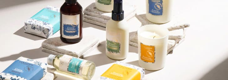 Spend €65 and Get a Free Verbena Lucky Collection at L'Occitane