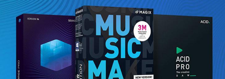 -25% de réduction sur les software Audio chez MAGIX