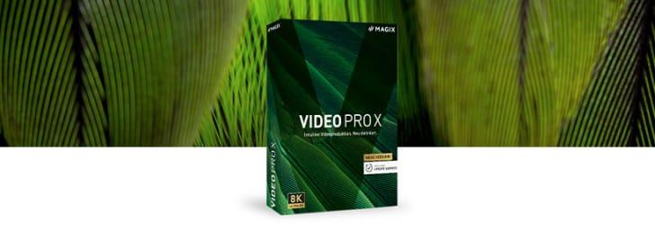Nur bei Groupon: -25% Code auf MAGIX Video Pro X bei MAGIX Software