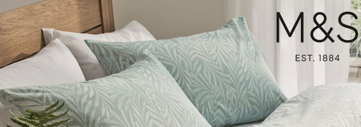 Don't Miss 20% Off All Homeware in the M&S Home Event at Marks & Spencer
