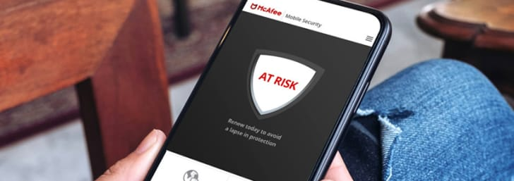£50 Discount on Total Protection with a 1-Year Subscription at McAfee Internet Security