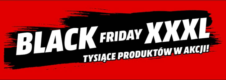 Black Friday XXXL i Tysiące Produktów w Akcji Media Markt