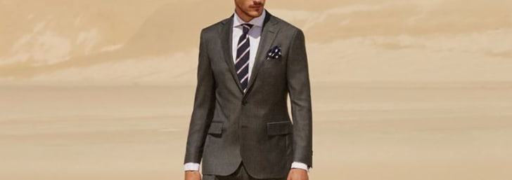Save 25% on Selected Men's Suits from M.J. Bale