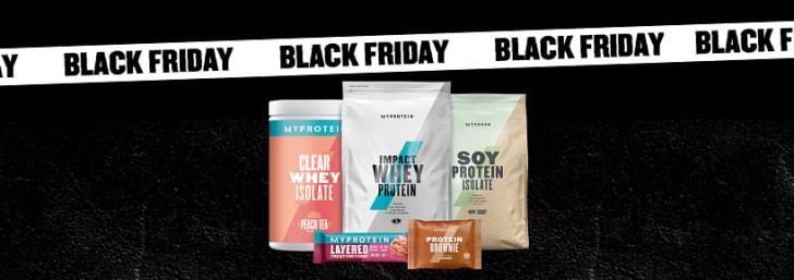 Zum Black Friday 52% Rabatt auf Alles bei Myprotein