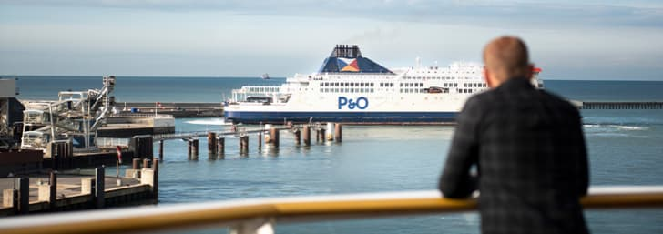 Get 22% Off Towed Caravan Trips at P&O Ferries