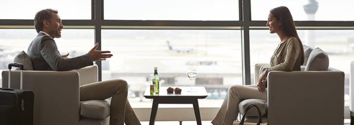 Détendez-vous dans la Lounge Class avec Priority Pass