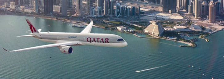 Only $1219 and Up for Tickets to Selected Countries at Qatar Airways
