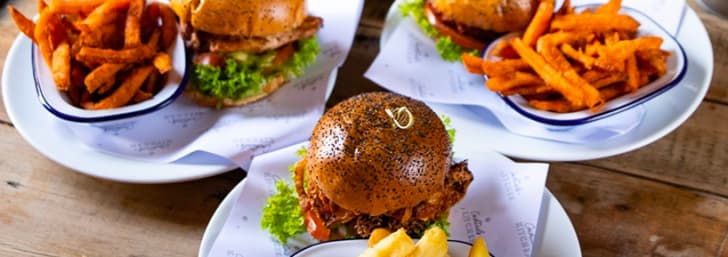 Get a Drink and Lunch from Only £5.50 at Revolution Bars