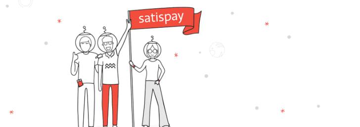 5€ di buono Satispay se ti iscrivi alla Newsletter