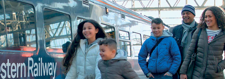 Travel with a Railcard for 1/3 Off Rail Fares at South Western Railway