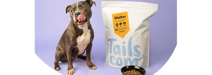 Save 75% on First Box Orders Plus Get Free Good Dog Treats at tails.com