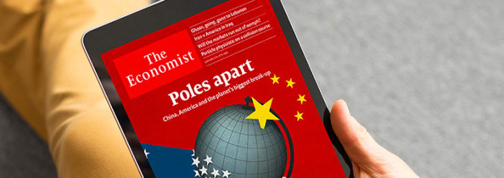 12 Weeks for £12 at The Economist - Introductory Offer